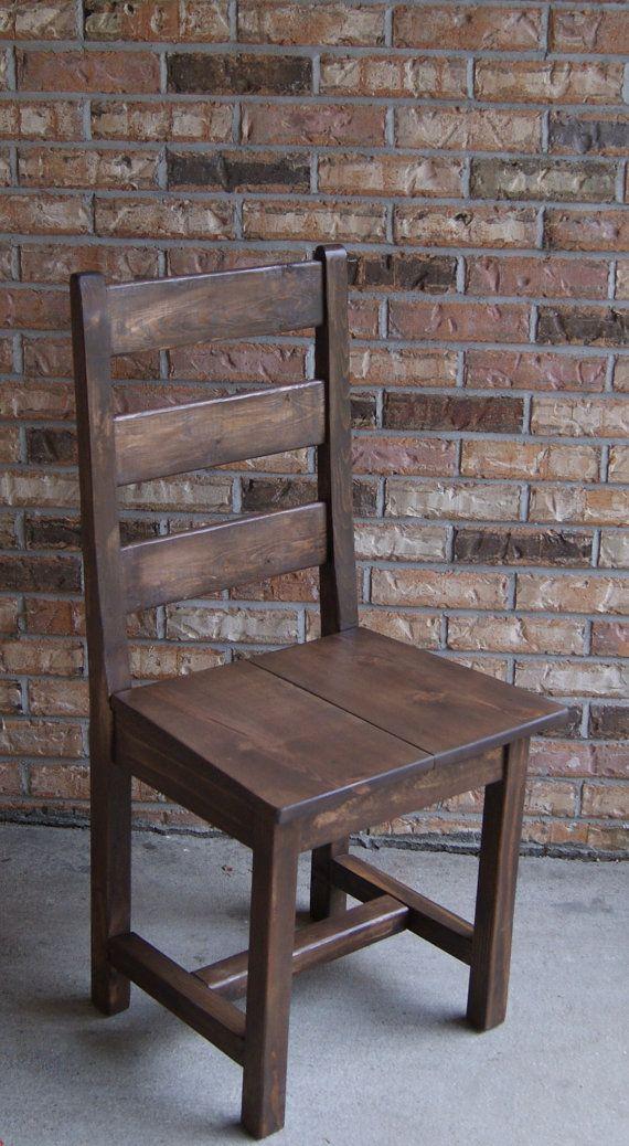 Chair, Farm Chair, Ladder Back Chair, Wooden Chair