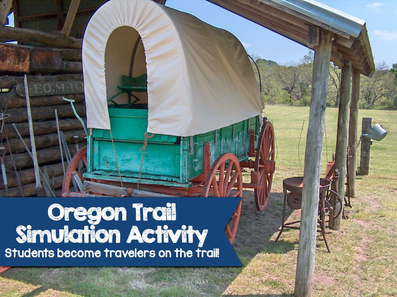 Oregon Trail Simulation Activity Become A Traveler