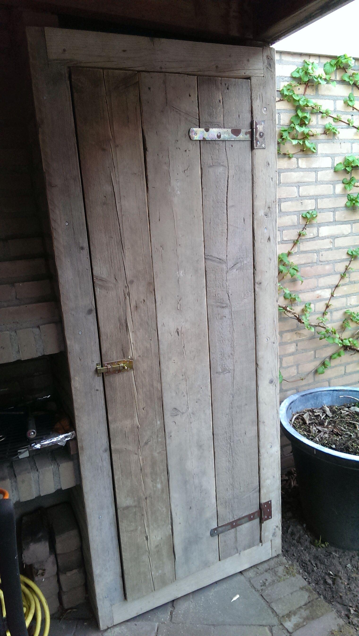 Steigerhouten Deur Steigerhout Pinterest Doors