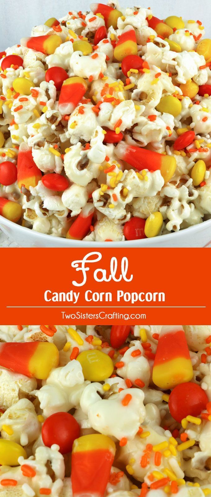 Fall Candy Corn Popcorn Fall candy, Halloween foods and