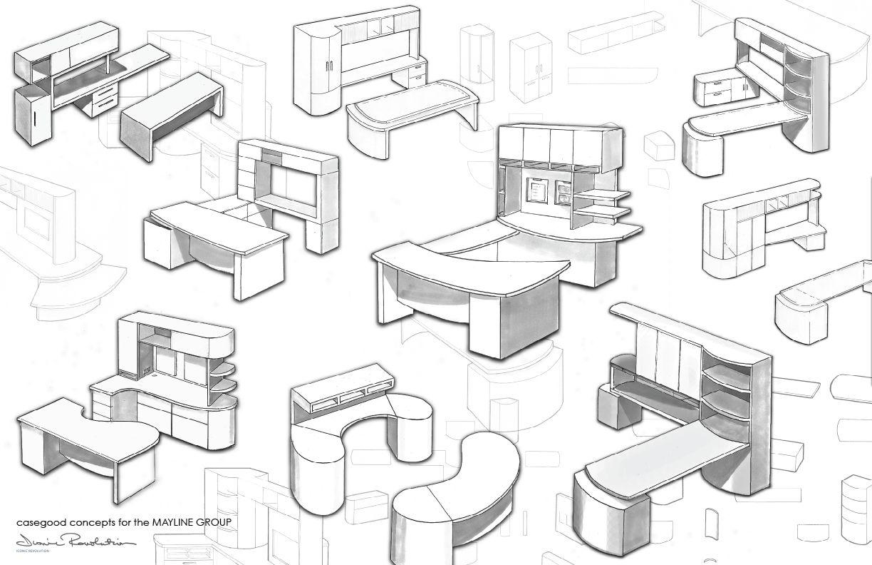 Contract Furniture Work By Zoe Heidorn
