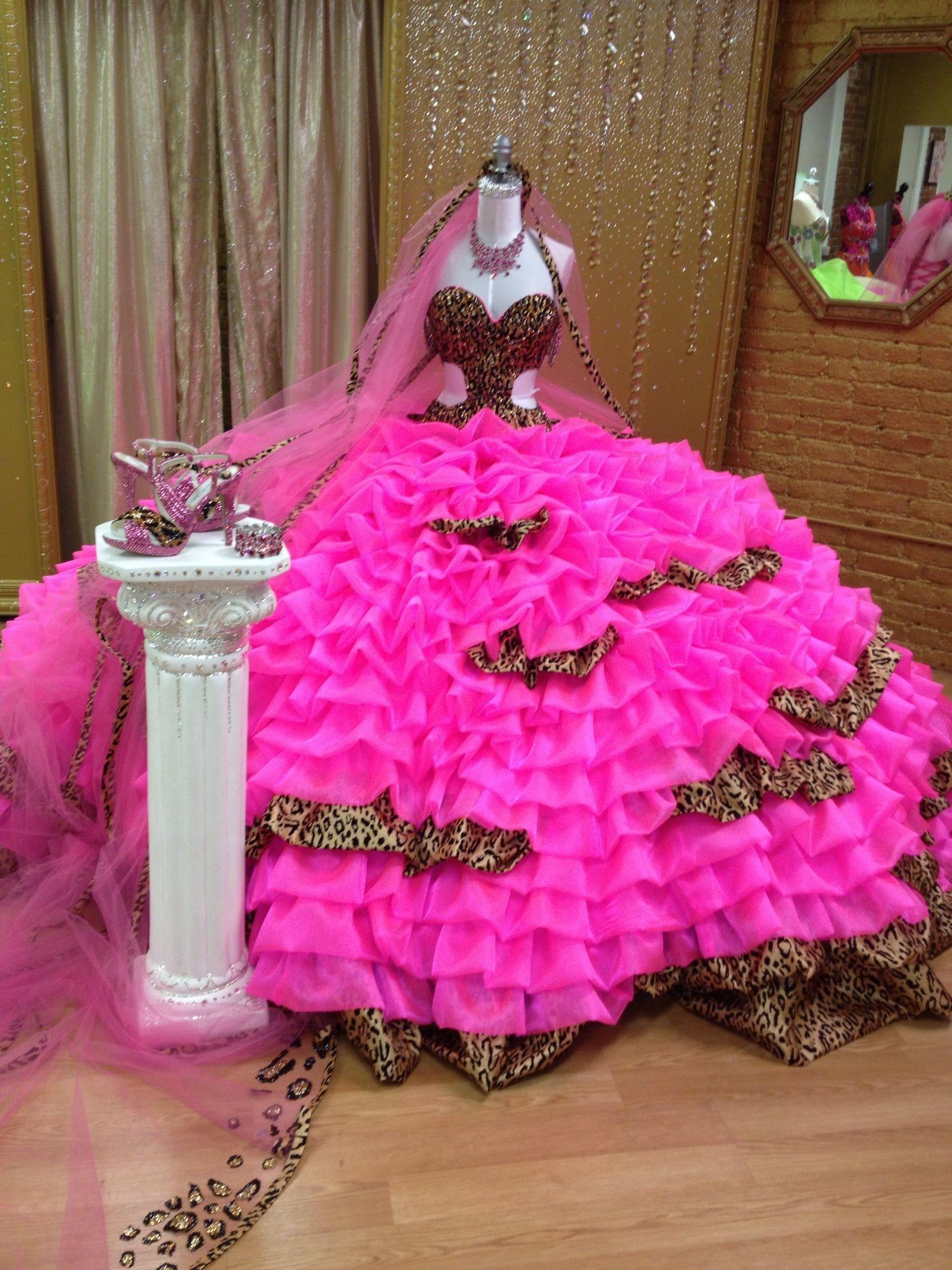 Mellie Stanley's custom wedding dress by Sondra Celli