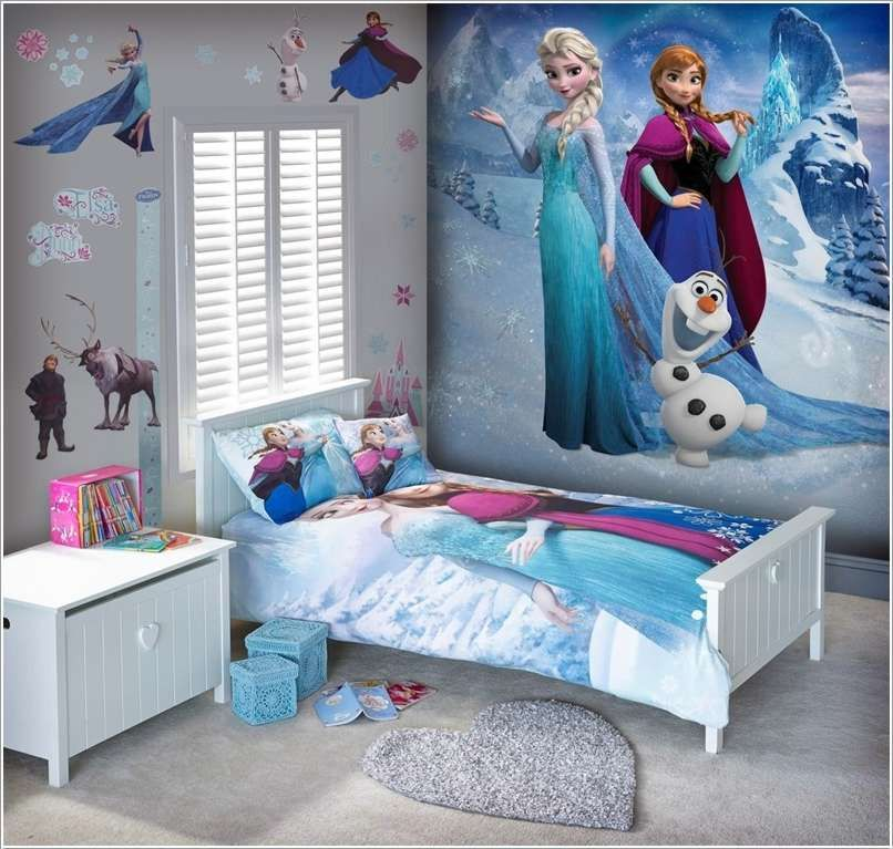 image result for frozen themed kids bedrooms | cool kids bedrooms