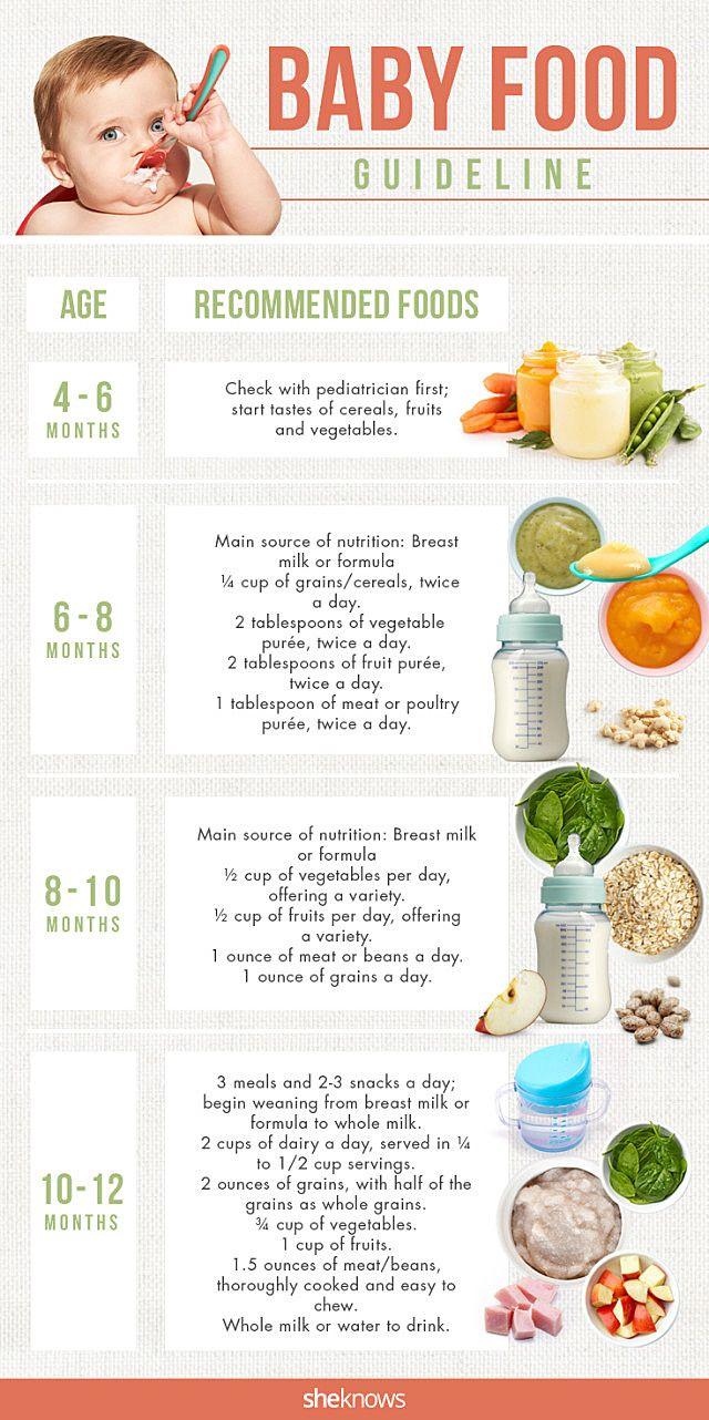 Baby food guide … Pinteres…