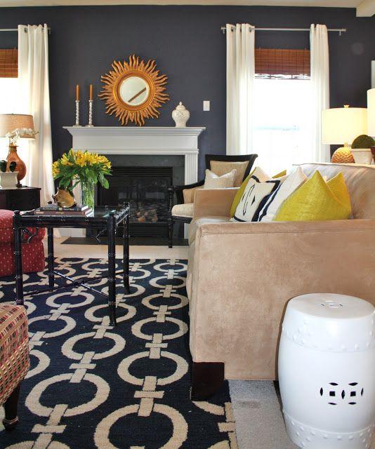 Best 25 Navy Family Rooms Ideas On Pinterest Blue