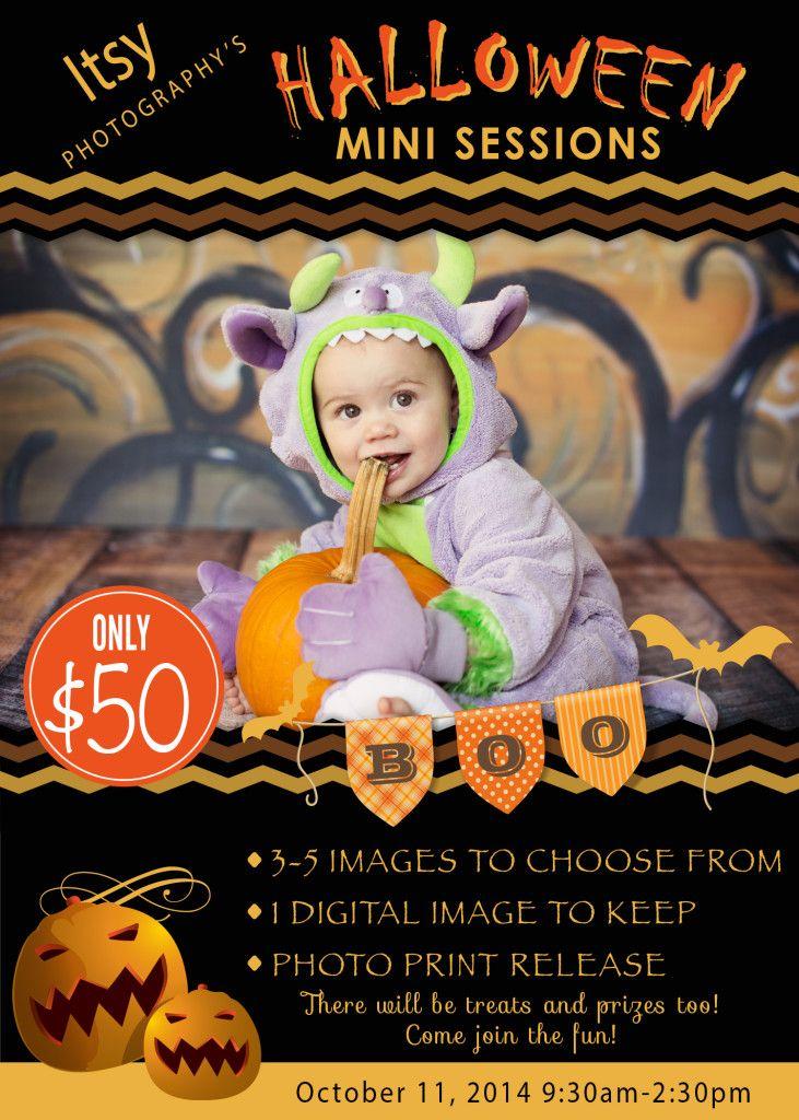 Halloween Mini Sessions … Halloween designs Pinterest