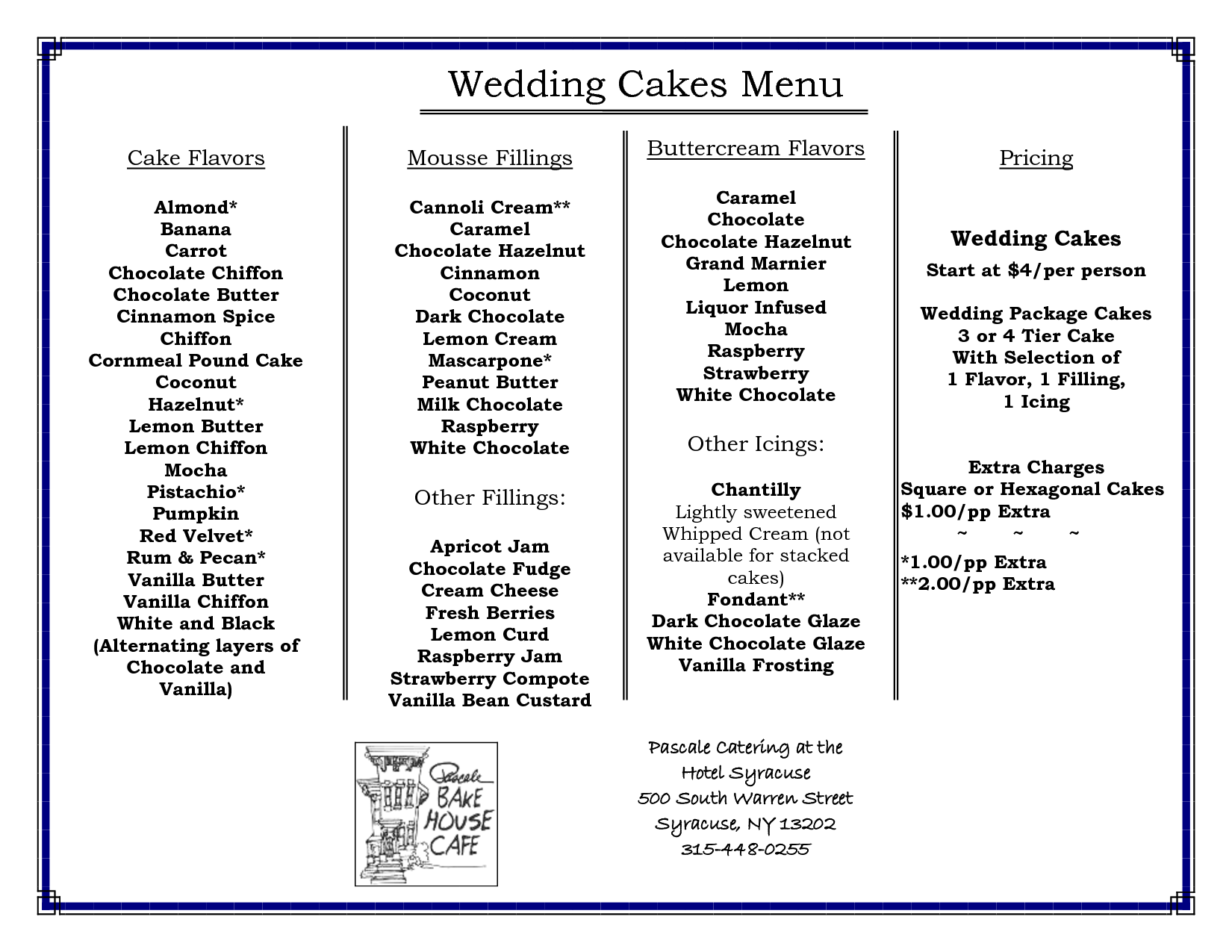 Wedding Cake Flavors With Wedding Cake Flavors Step By