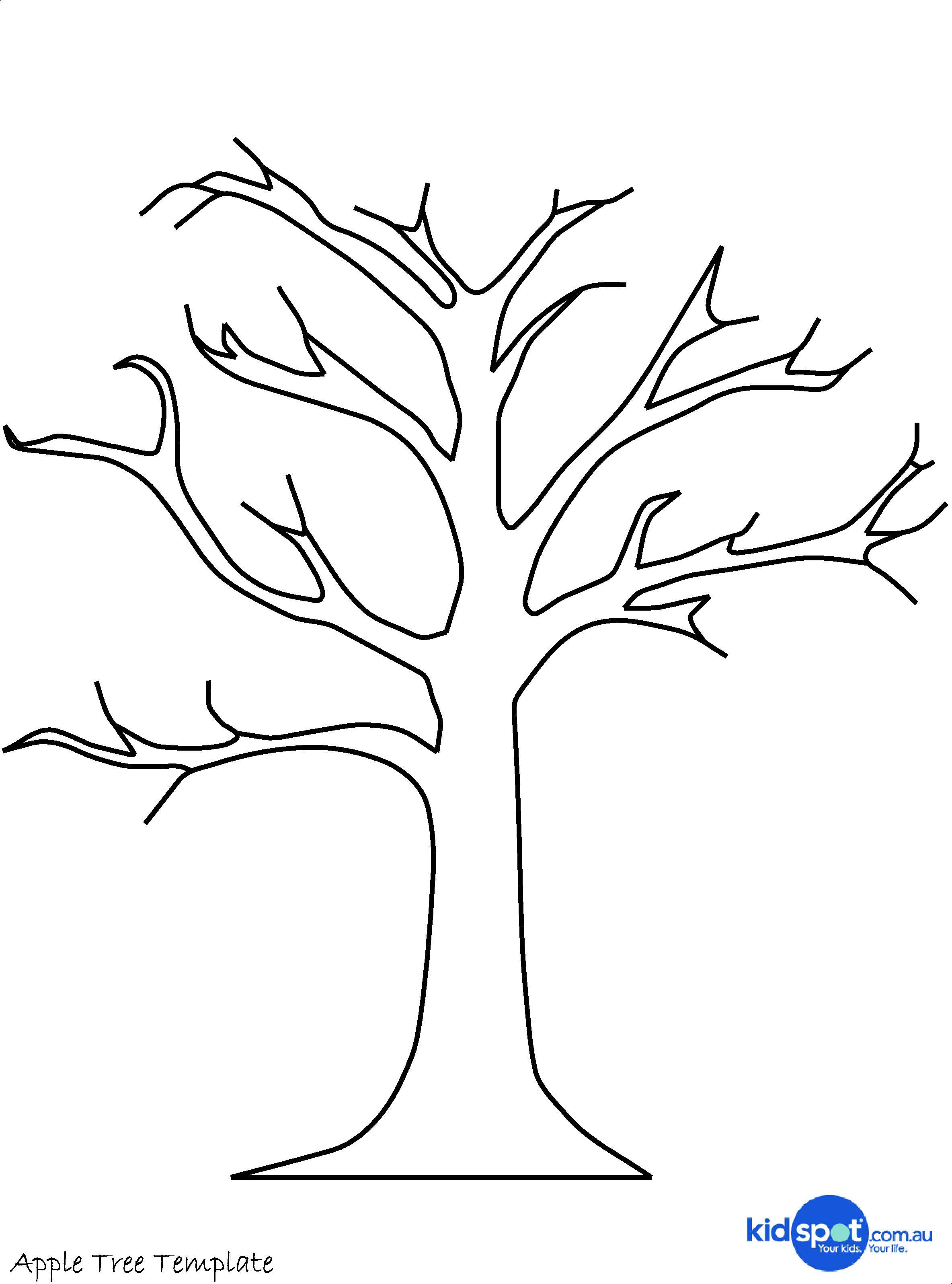 Tree Craft Cork Stamp Apple Tree