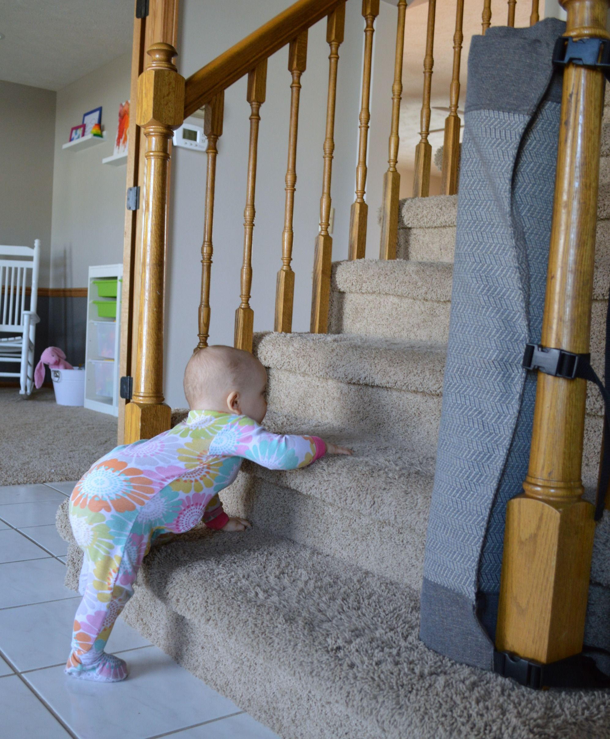 A stylish new way for baby proofing stairs Baby