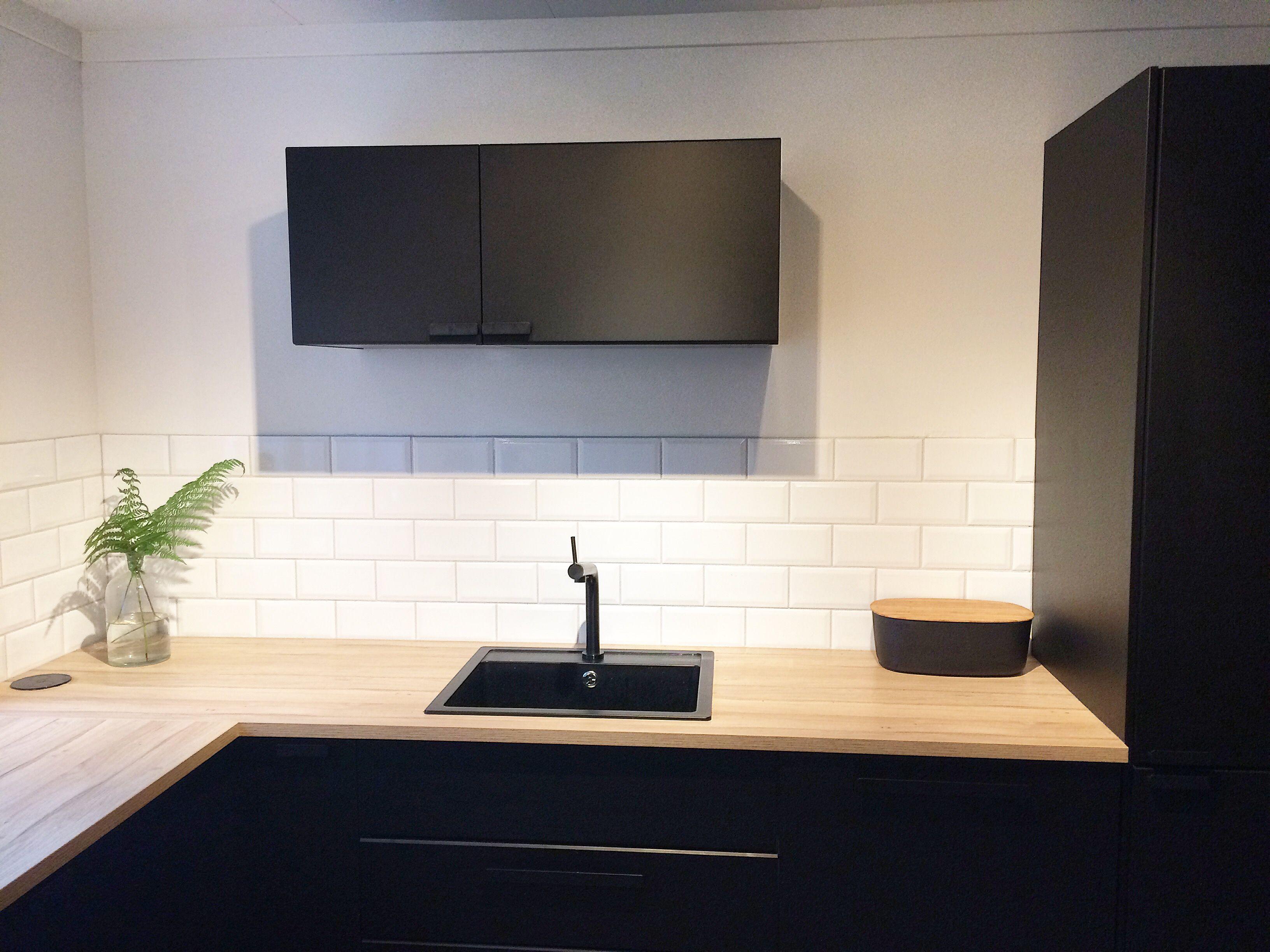 Ikea Kungsbacka cuisine Pinterest Kitchens, Black
