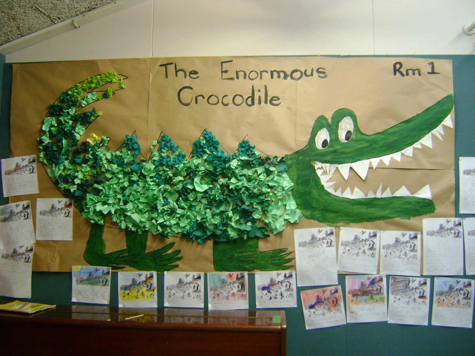 Image Result For Enormous Crocodile Artwork For Kids