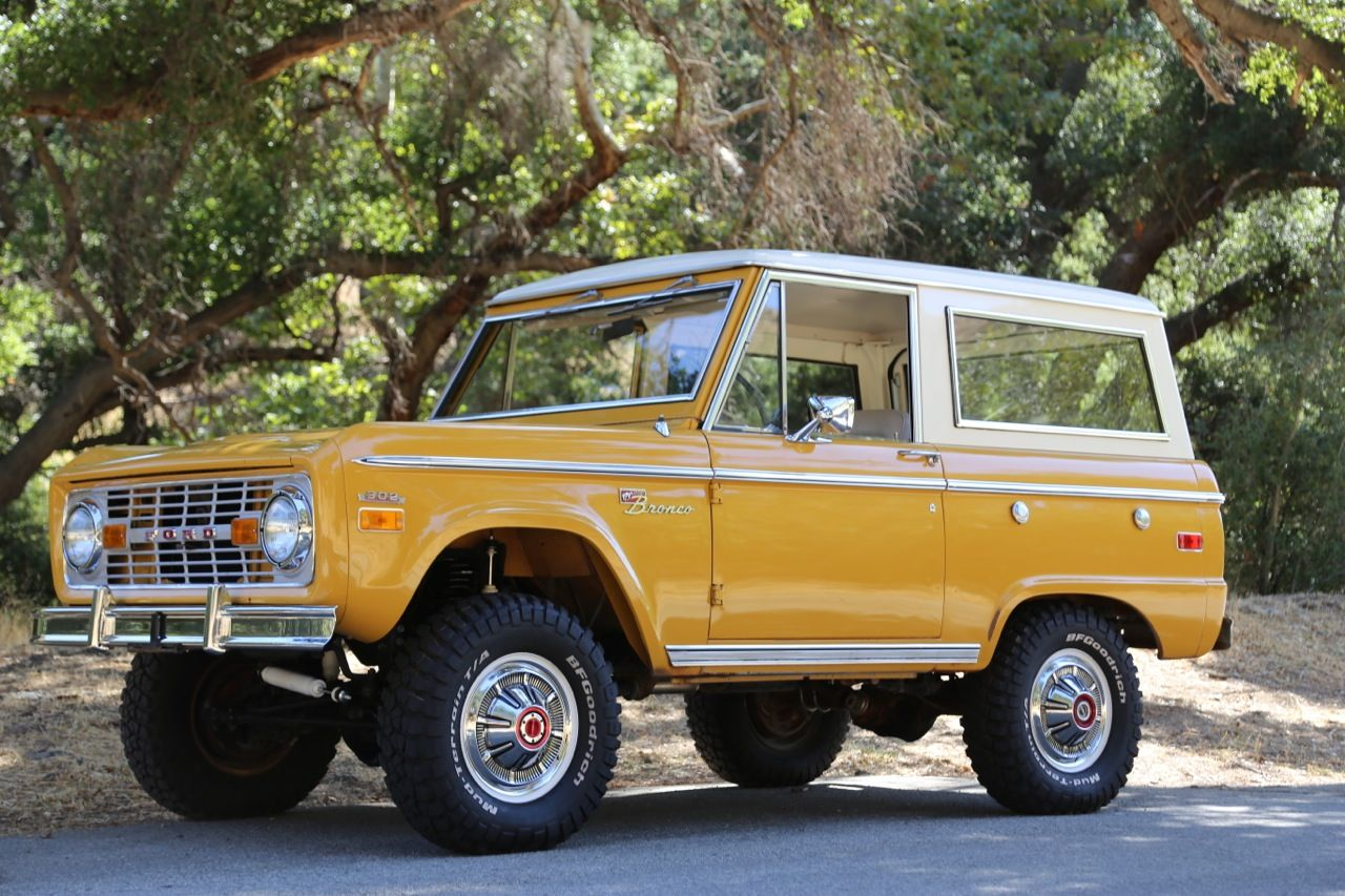 1970 ford bronco Dream Cars Pinterest Ford bronco