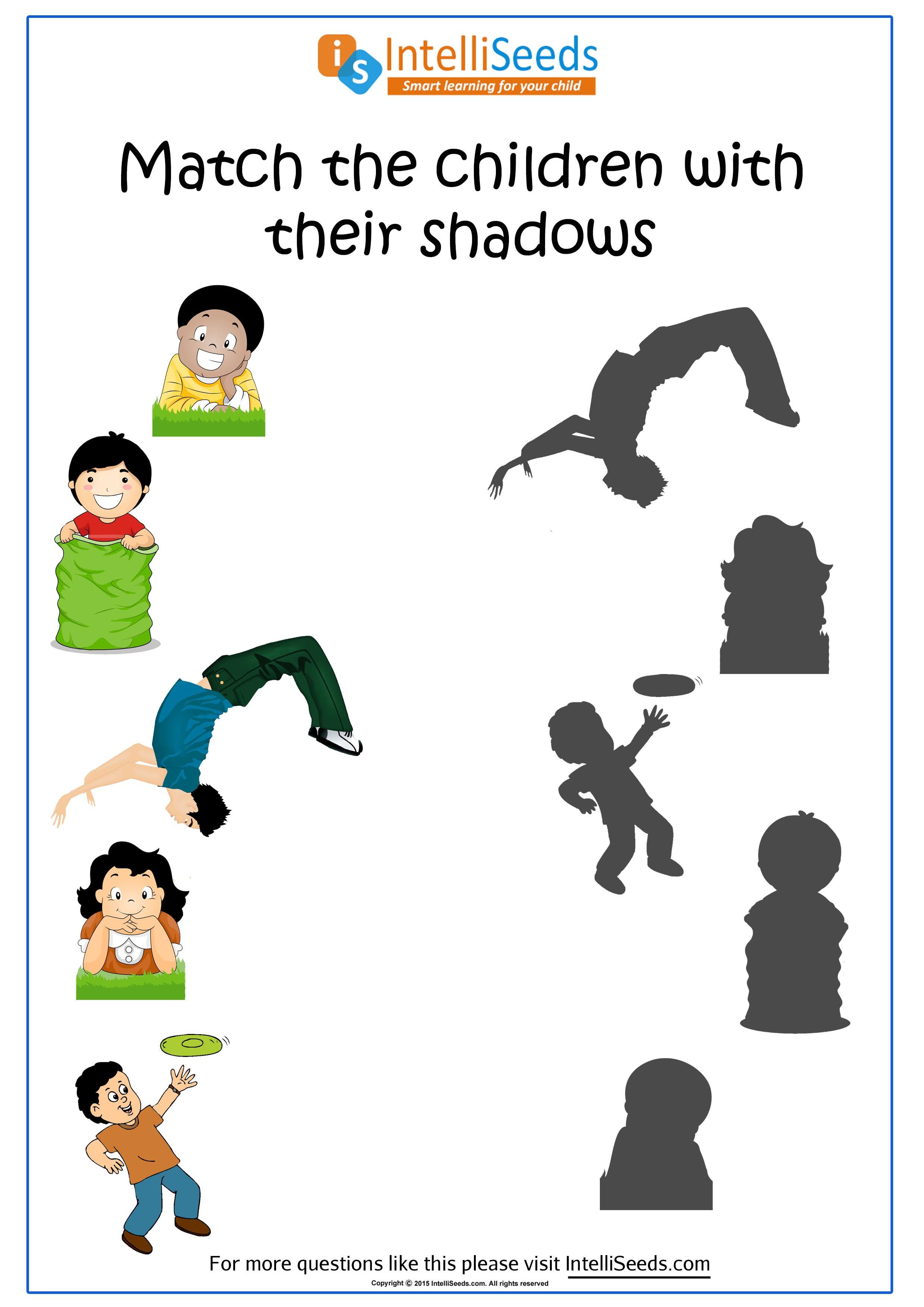 Develop Observation Skills By Matching Shadow