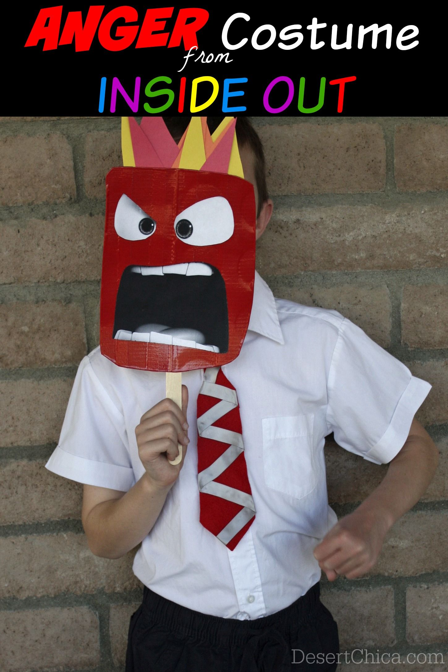 Diy Anger From Inside Out Costume