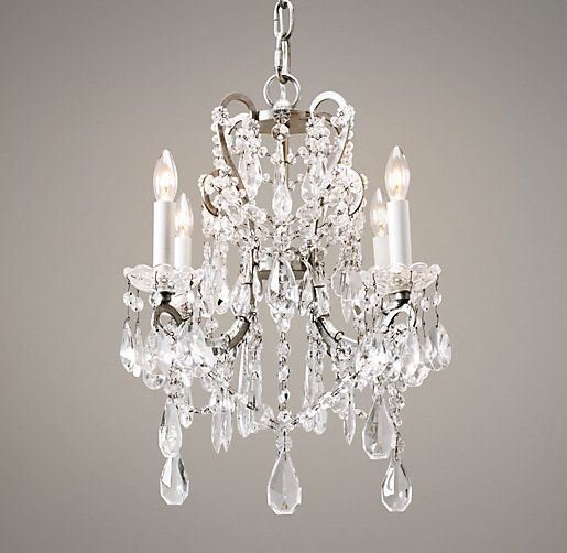 Manor Court Crystal 4 Arm Chandelier Love The Style Wall Color Behind