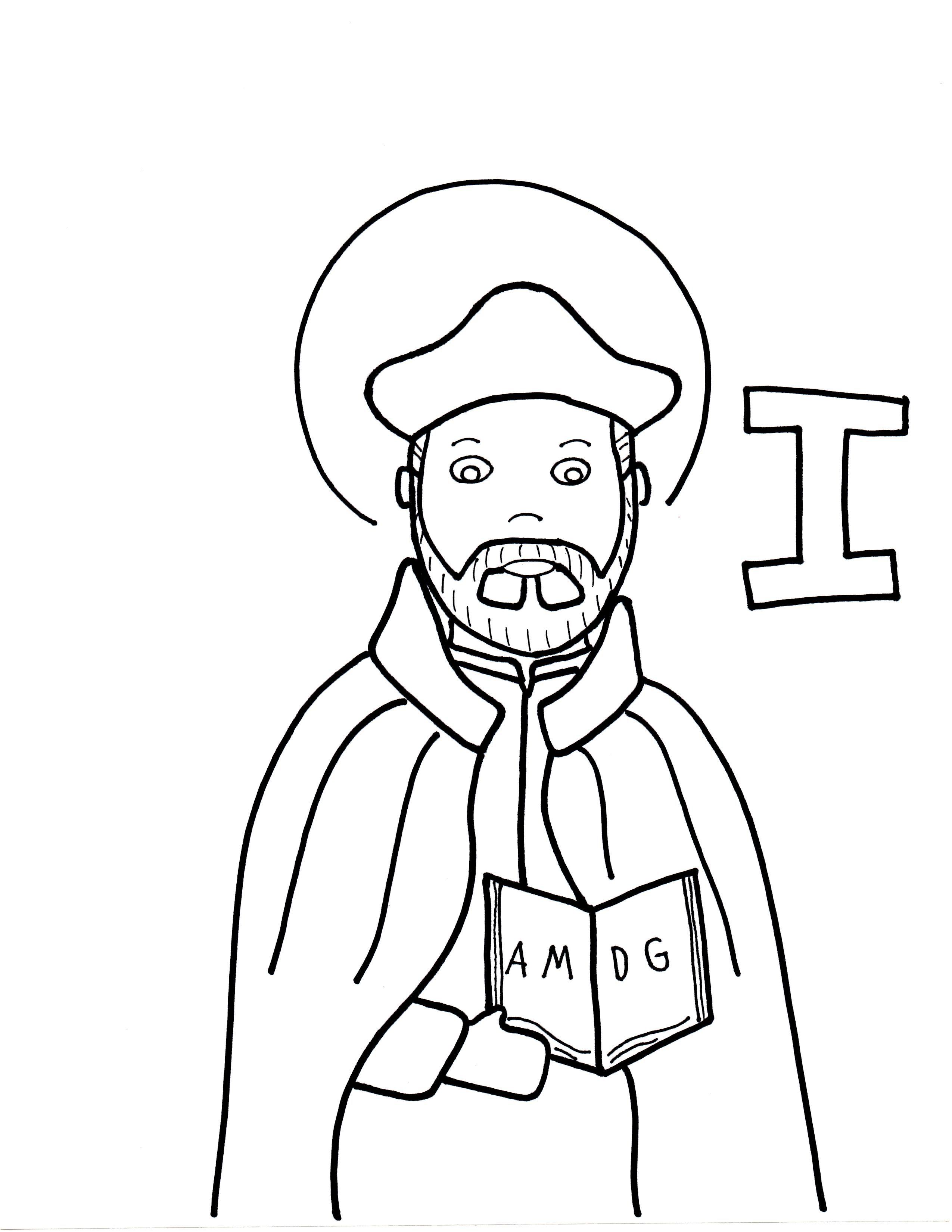 I is for St. Ignatius Loyola