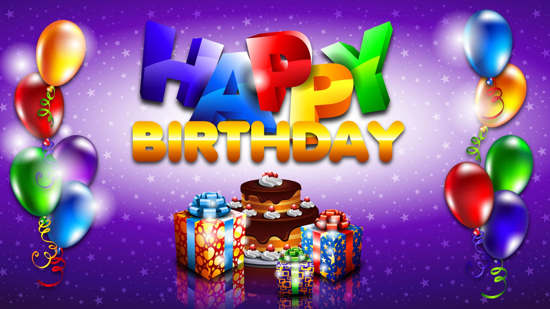 Birthday Wallpapers Collection For Free Download HD