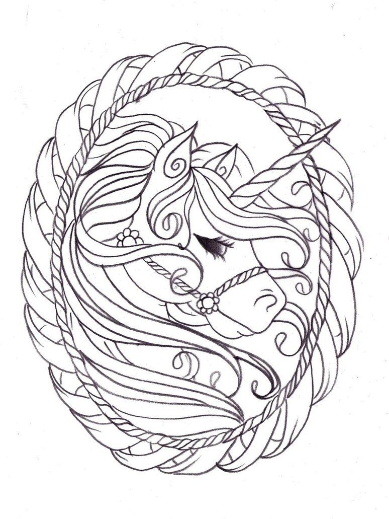 Image detail for Unicorn coloring pages for kids