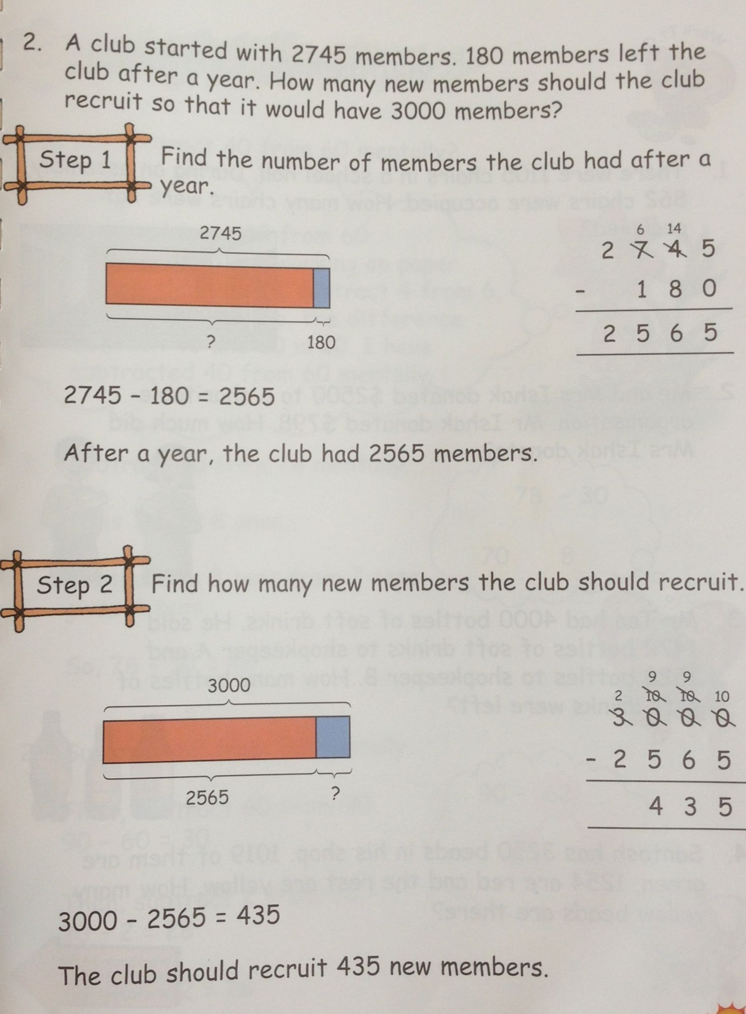 Another Grade 3 Word Problem On Subtraction Singapore Math