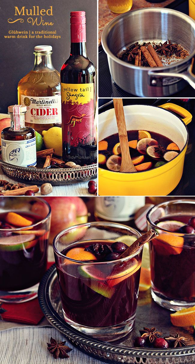 German Mulled Wine Glühwein by tidymom Perfect for a
