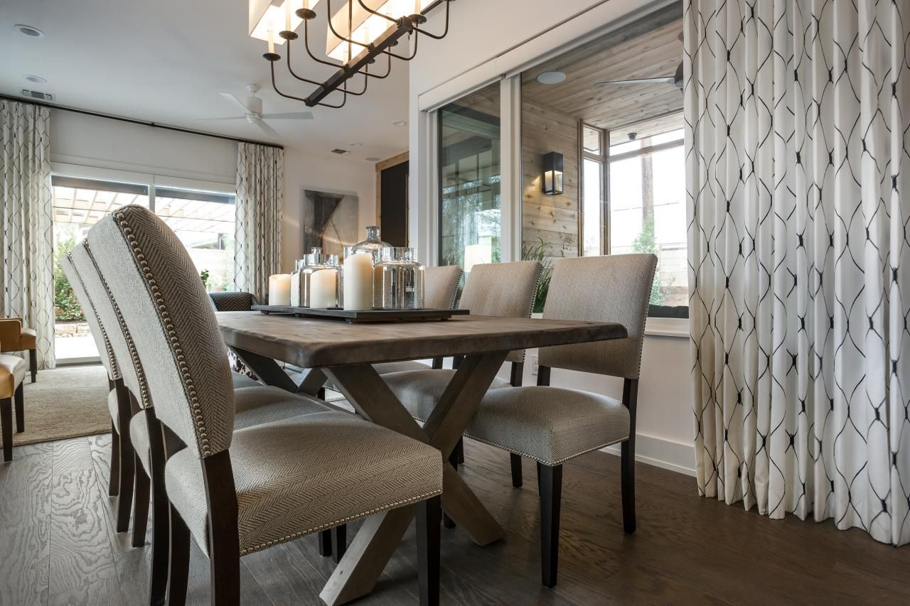Dining Room Pictures From HGTV Smart Home 2015 Farmhouse