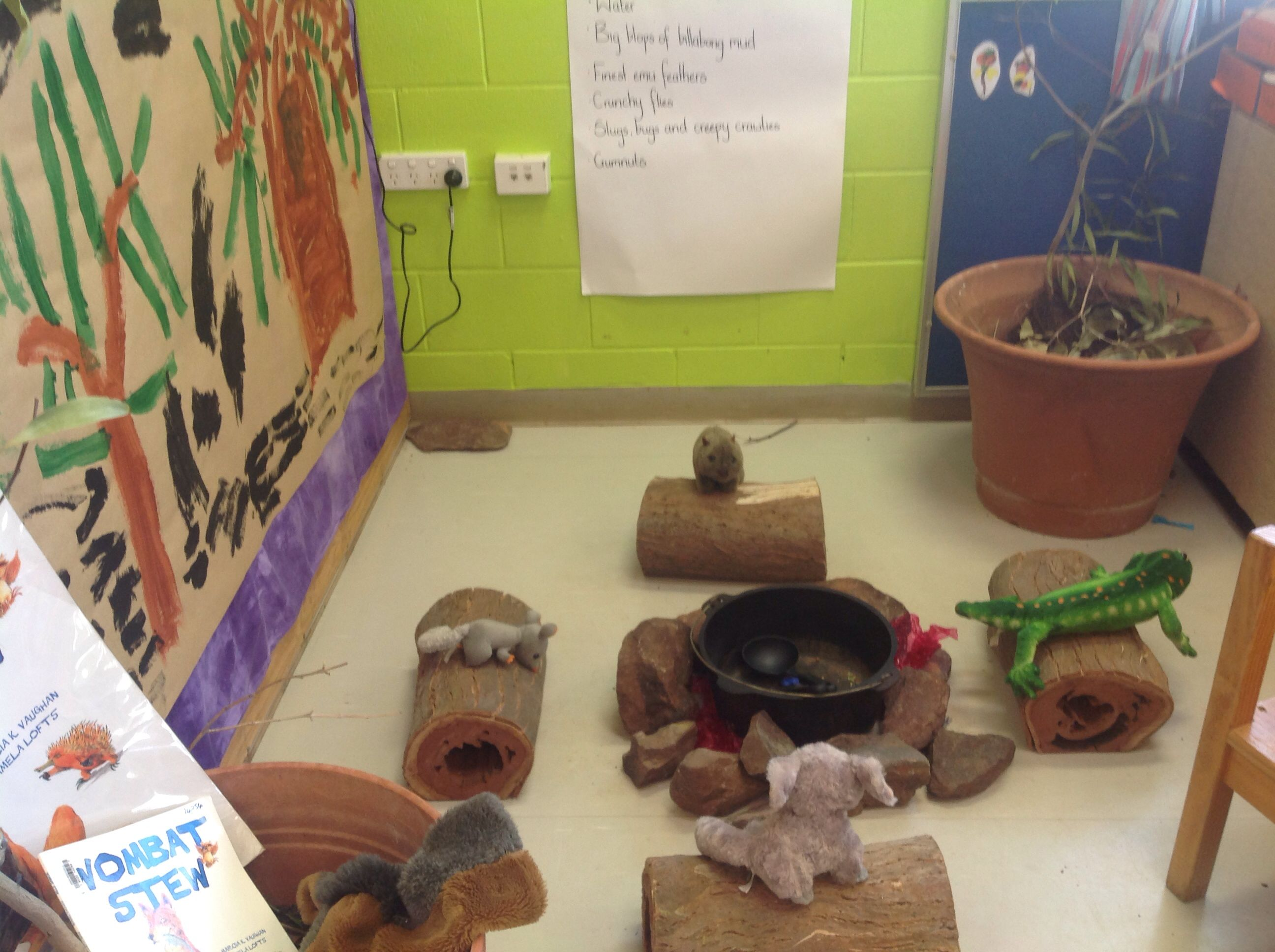 Wombat Stew Role Play