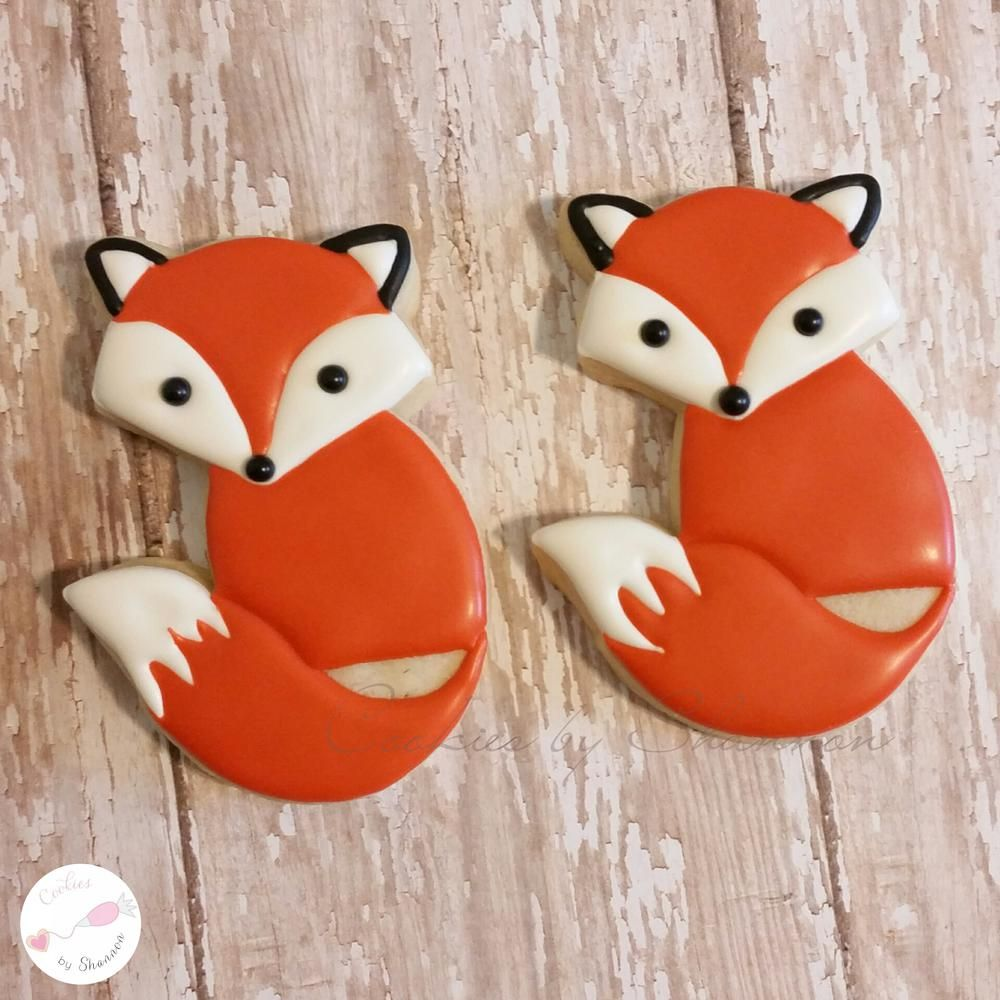 Sweet Fox Sisters Cookie Connection Decorated Cookies