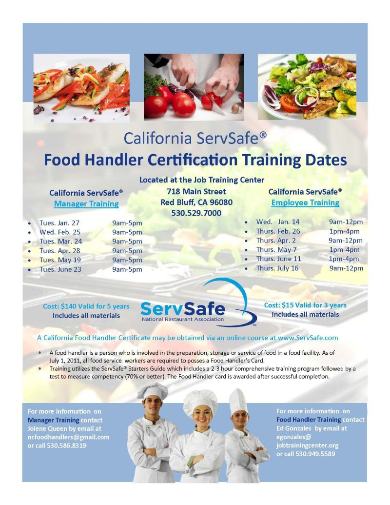 Servsafe food handler certificate illinois foodfash servsafe food handler card flyer training xflitez Image collections