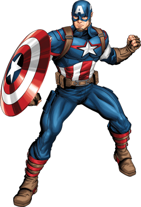 Assemble your Avengers team and create your own Super Hero