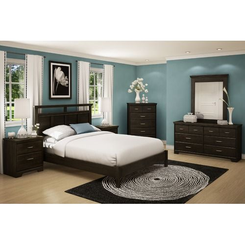 Teal With Light Floor And Dark Wood Furniture This Looks Exactly Like Our