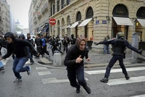 Image result for crowd panic