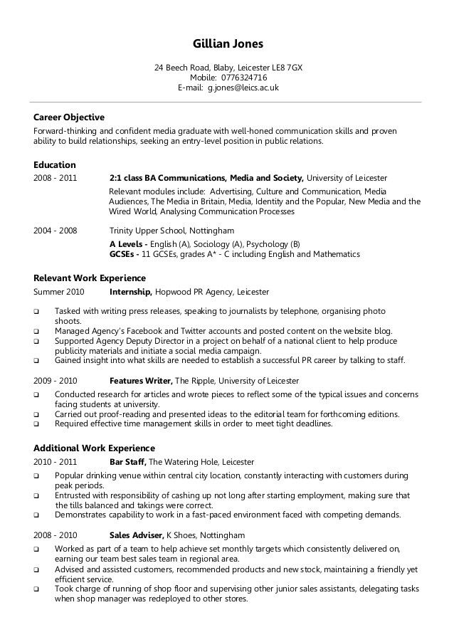 most effective resume format resume sample - Most Effective Resume Template