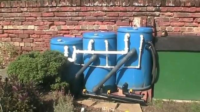 Brand new diy pond filter system thats so easy to clean