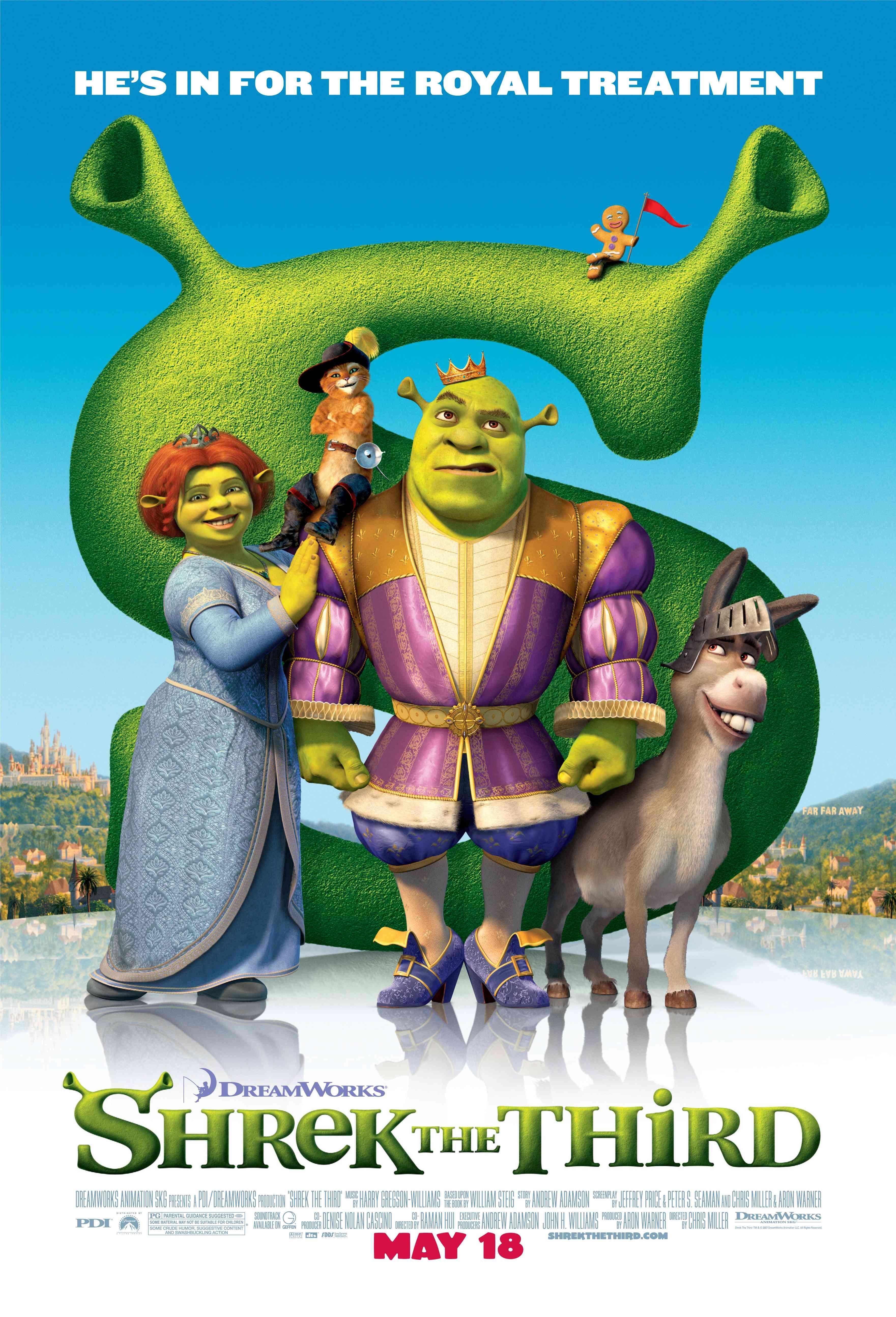 Shrek III Favorite Movies Pinterest Shrek, Eddie