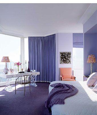 Jamie Drake Lavender Bedroom Painting My Light Purple