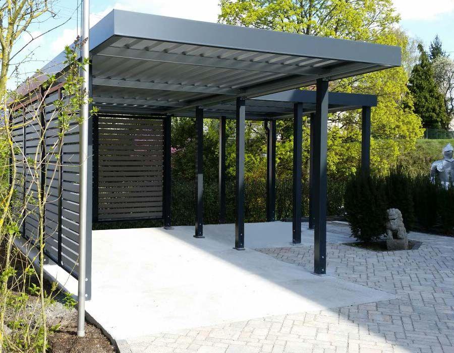 Carport von Siebau in LForm Навес для машин Pinterest