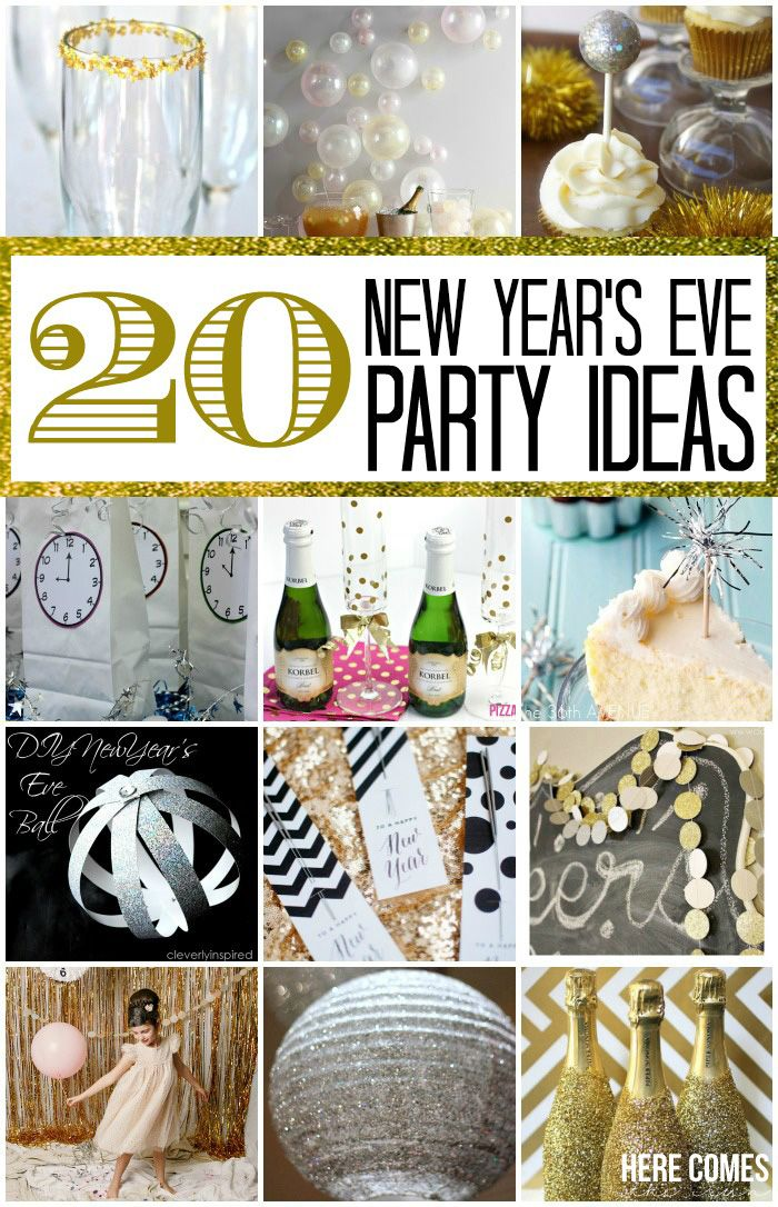 20 New Year's Eve Party Ideas