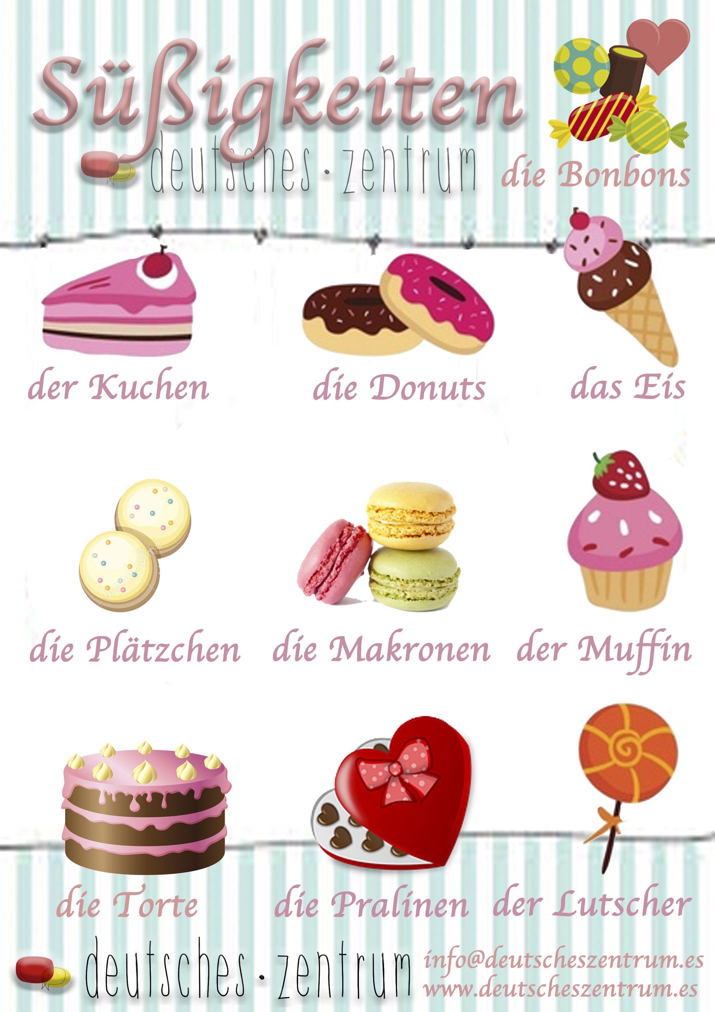 Su Igkeiten Deutsch Wortschatz Grammatik German Daf