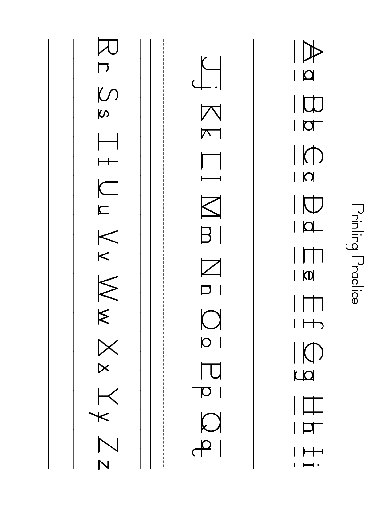 Free Lowercase Letter Worksheets Zb Printing Practice Sheet