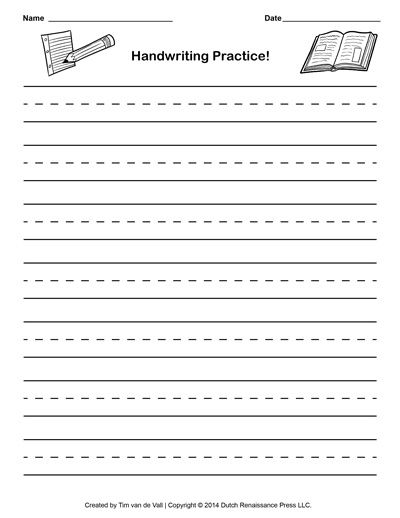 Handwriting Lined Paper Template writing paper lined paper – Free Lined Handwriting Paper