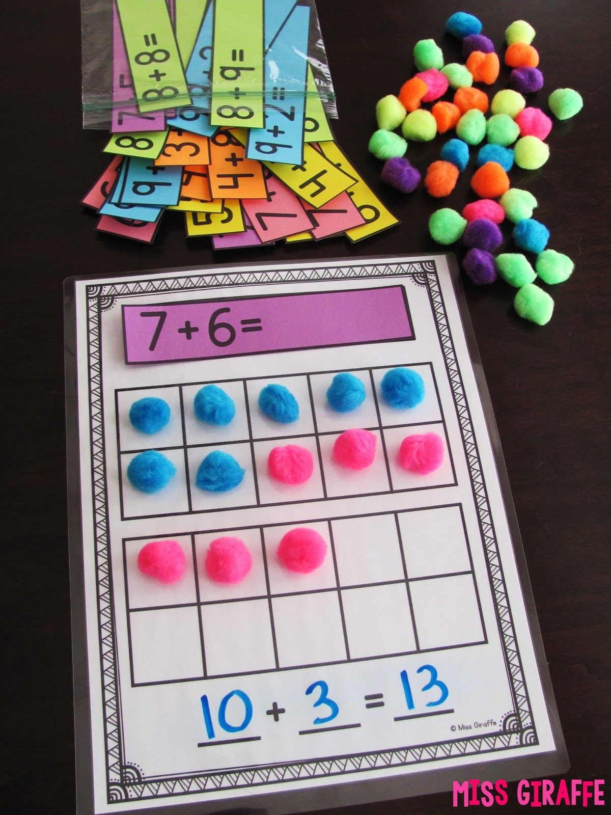 Making A 10 To Add Is A Great Math Strategy To Help