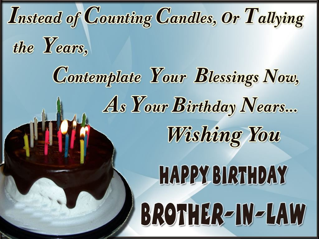 happy birthday wishes for brother in law quotes birthday