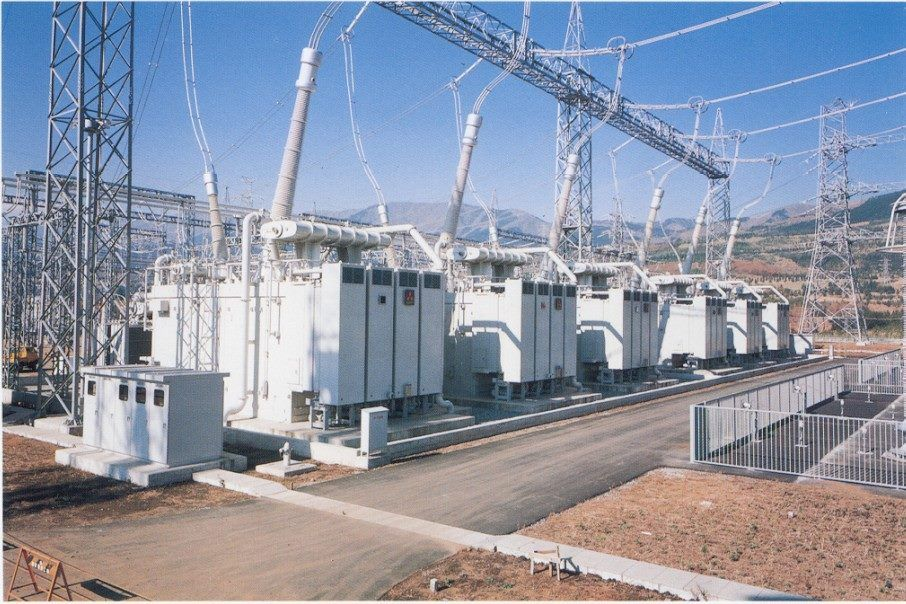 Large transformers. Electrical Technology Pinterest
