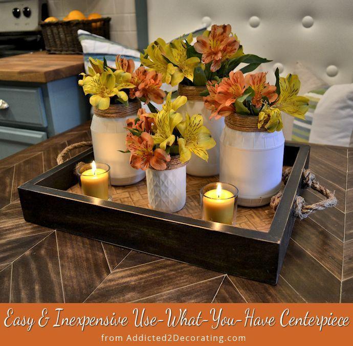 Kitchen Table Centerpieces Decor Everyday