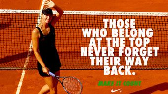 Nike Tennis Wallpaper Maria Sharapova Von Centercourt De Hier