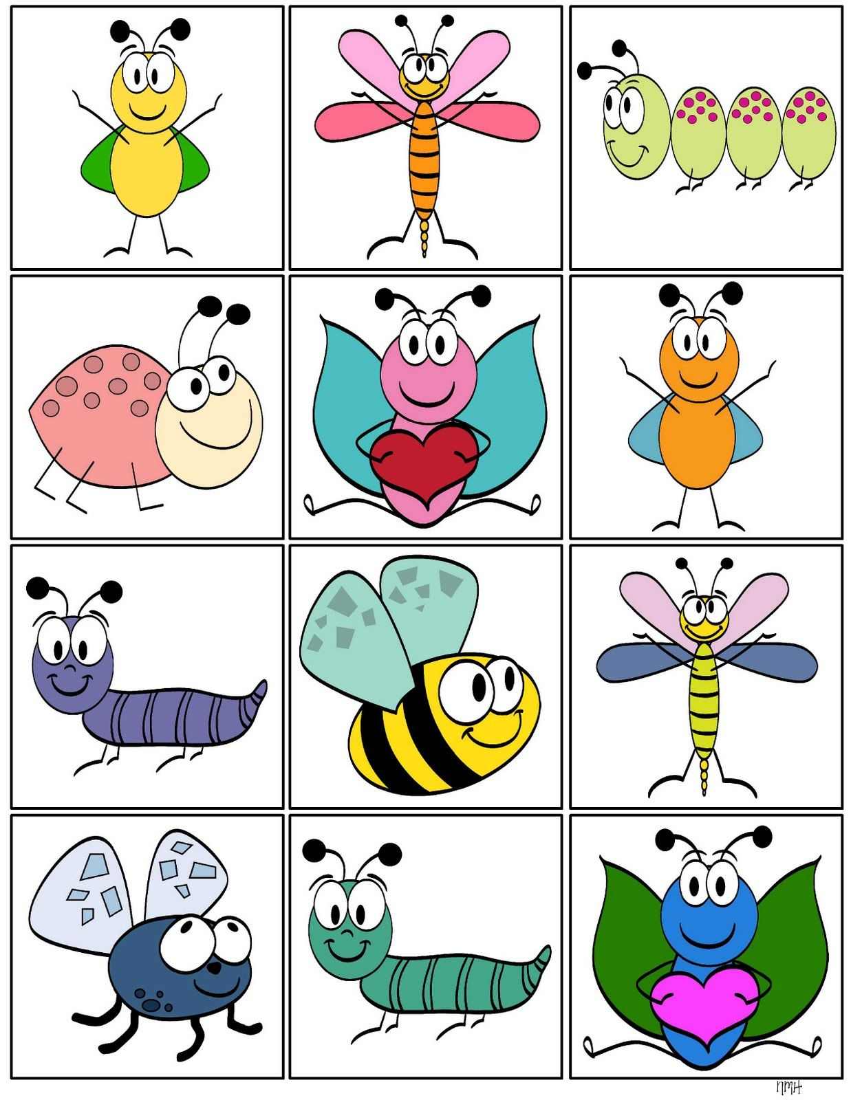 Storytime And More Insect Memory Game M What Else To