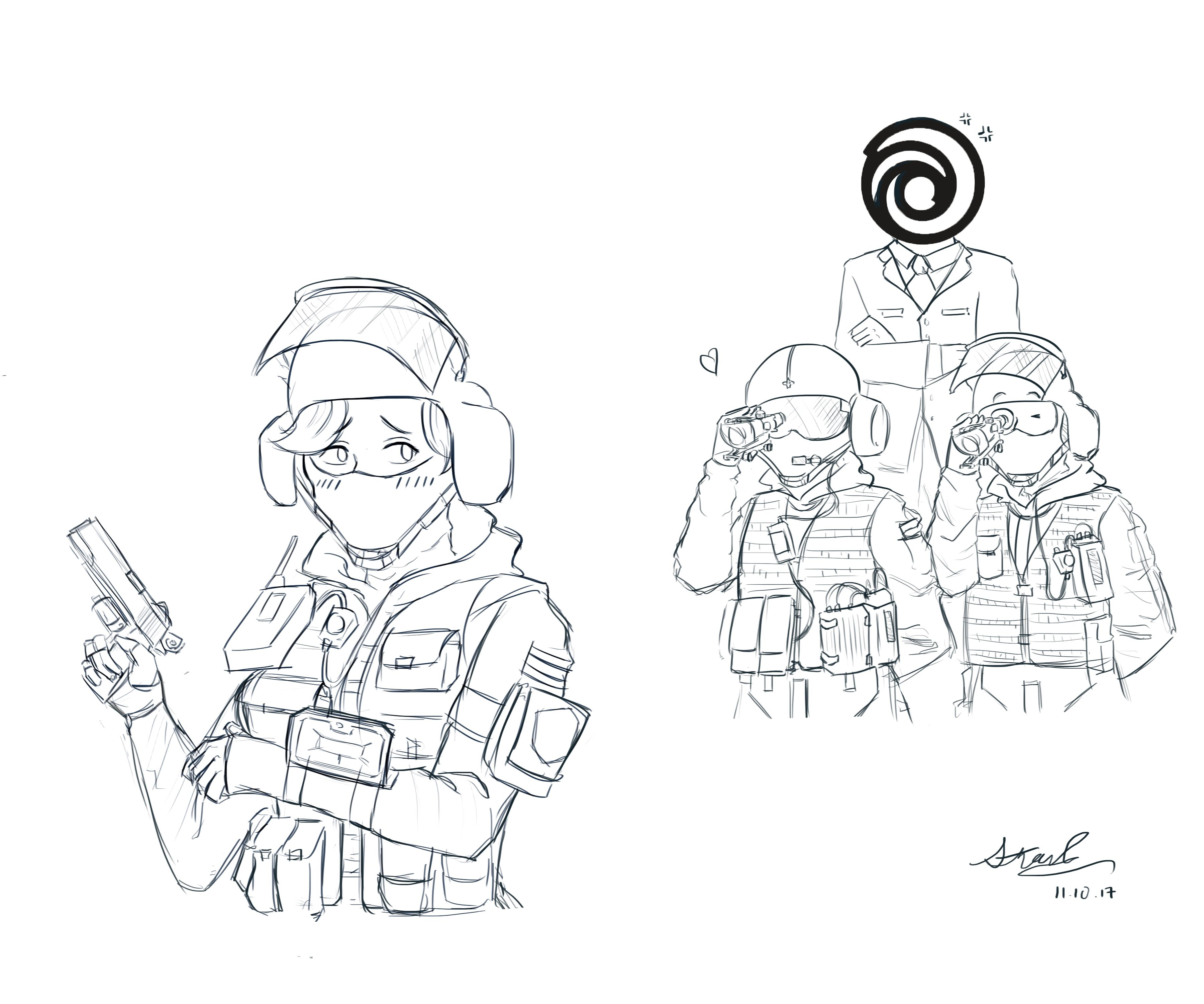 Rainbow Six Siege Fan Art By Stanchen18