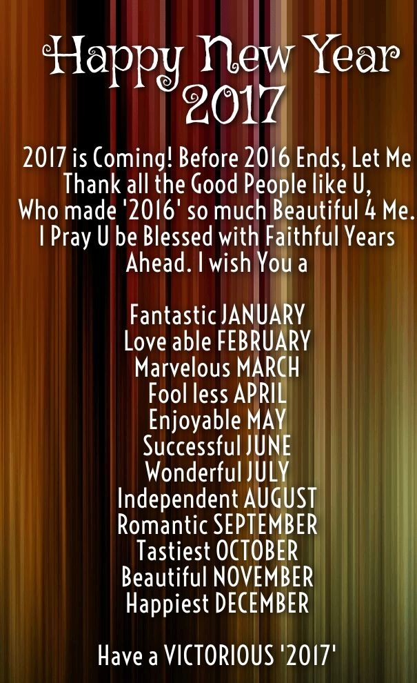 Happy New Year 2017 Quotes greeting wishes images Happy