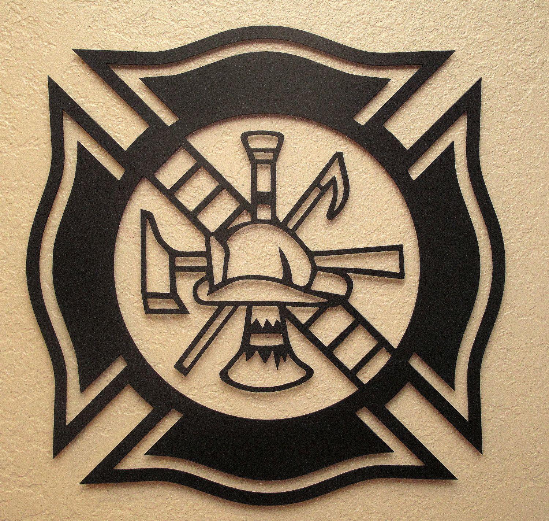 Fireman's Maltese Cross Metal Art Pinterest Maltese