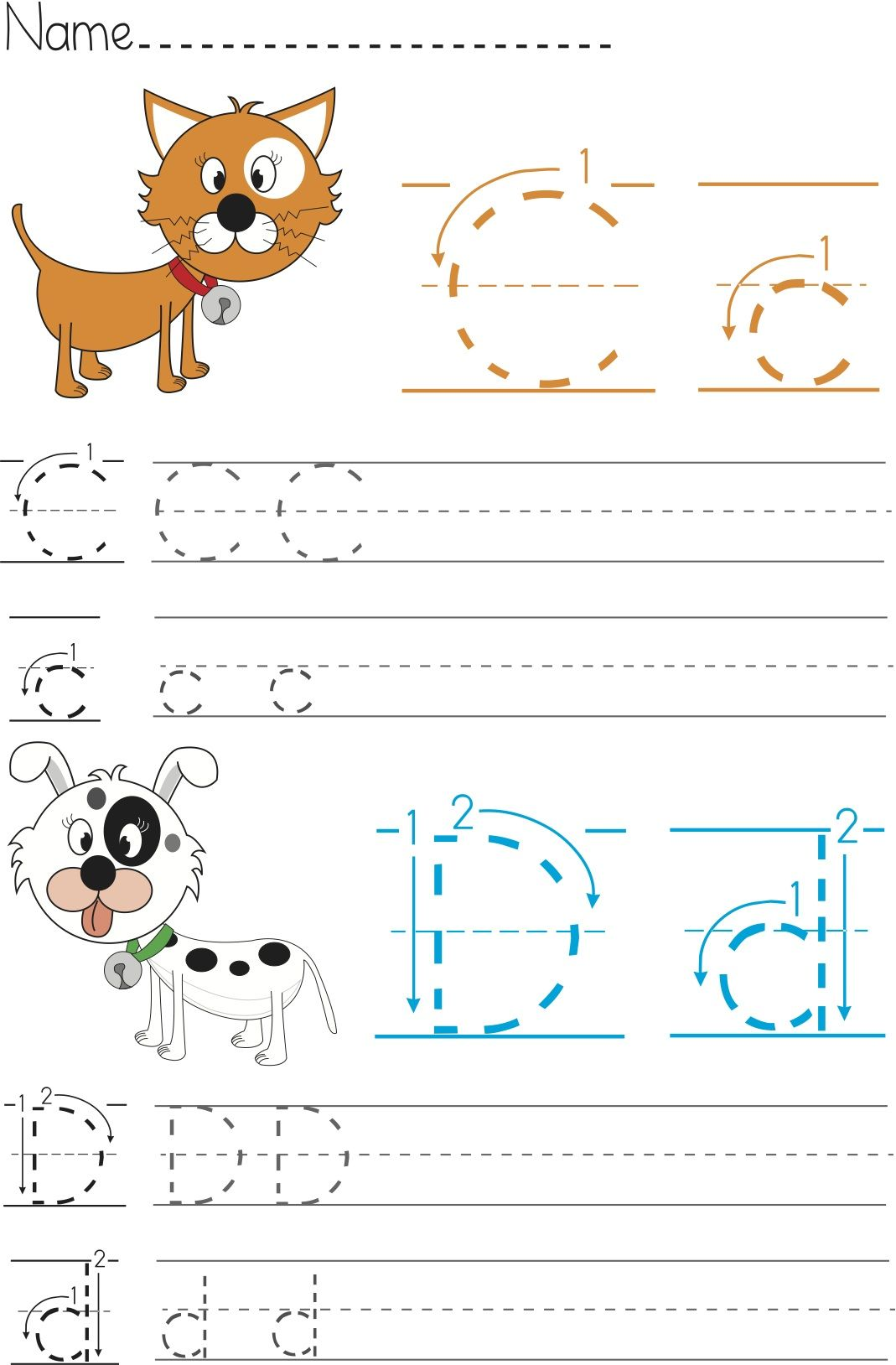 Writing Worksheet For Kids It S Writing Practice For Children With